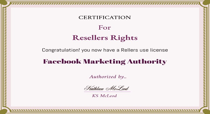 Resellers Rights License image
