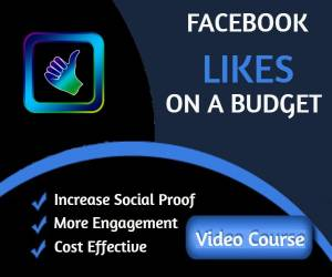 facebook likes on a budges