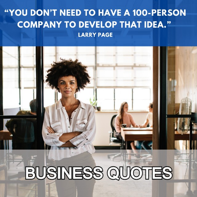 BUSINESS QUOTES CATERGORY