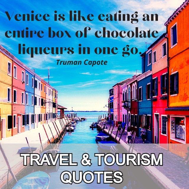 TRAVEL & TOURISM QUOTES CATEGORY
