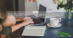 including images in blogs