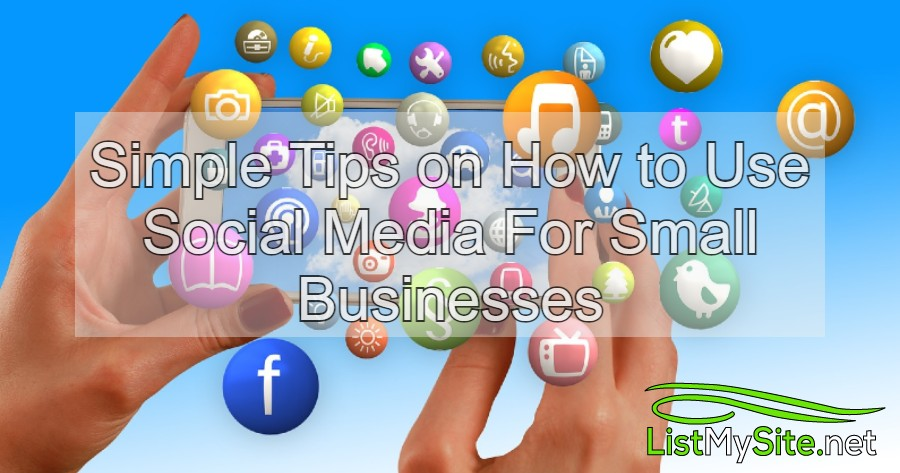 simple tips on how to use social media for small business header